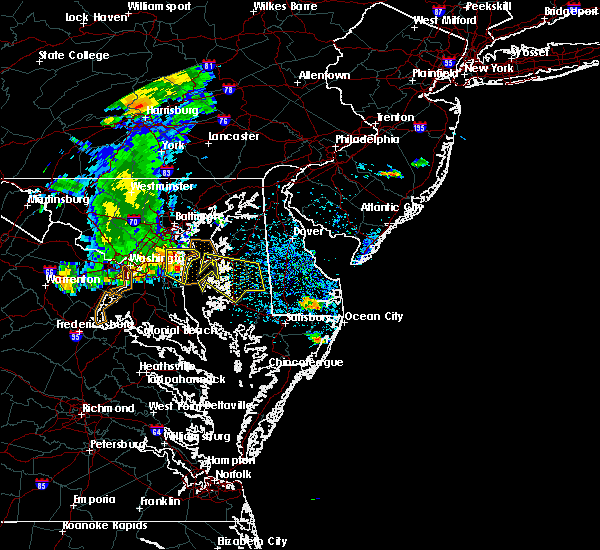 Radar Image for Severe Thunderstorms near Kent Narrows, MD at 7/22/2017 3:06 PM EDT