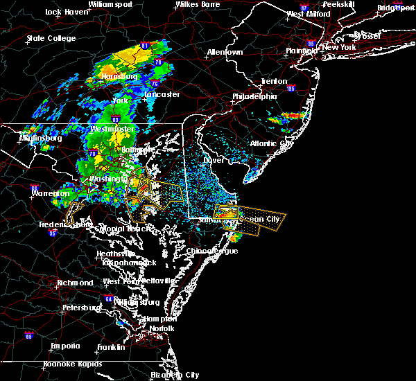 Radar Image for Severe Thunderstorms near Kent Narrows, MD at 7/22/2017 3:31 PM EDT