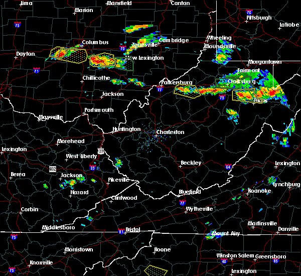 Radar Image for Severe Thunderstorms near Cairo, WV at 7/22/2017 3:43 PM EDT