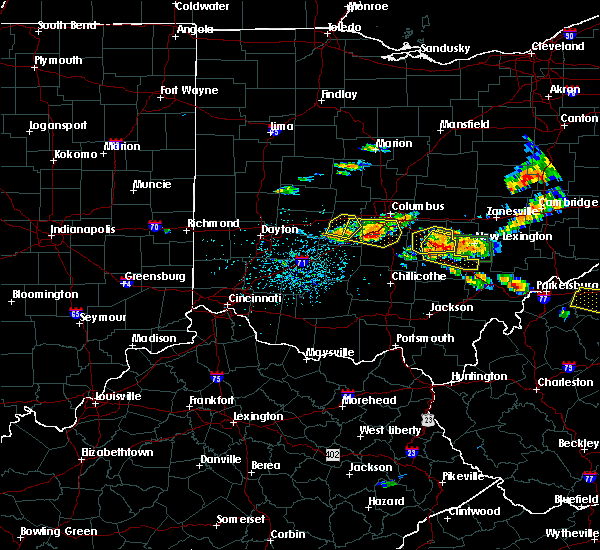 Radar Image for Severe Thunderstorms near Logan, OH at 7/22/2017 3:58 PM EDT