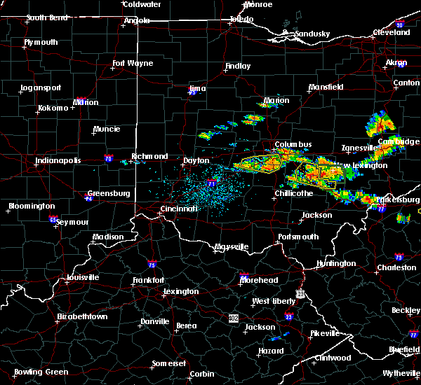 Radar Image for Severe Thunderstorms near Obetz, OH at 7/22/2017 4:07 PM EDT