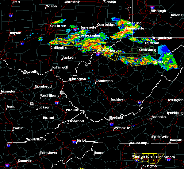 Radar Image for Severe Thunderstorms near Parkersburg, WV at 7/22/2017 5:06 PM EDT
