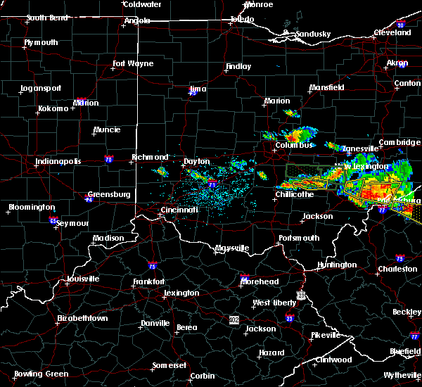 Radar Image for Severe Thunderstorms near Logan, OH at 7/22/2017 5:15 PM EDT