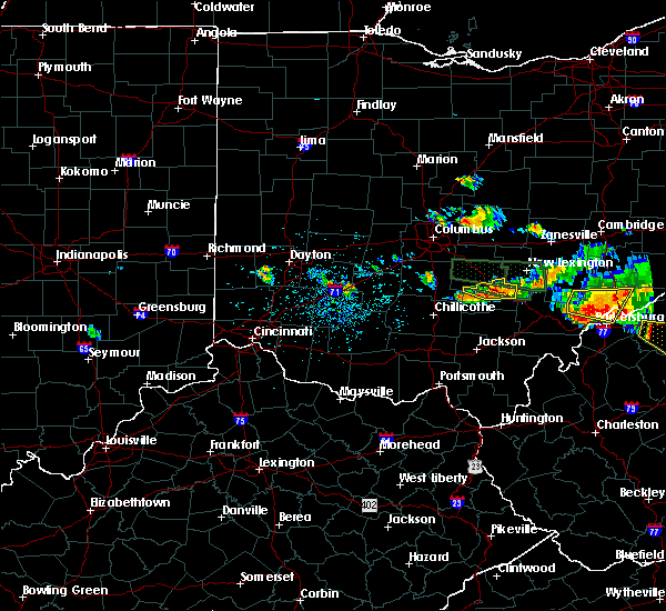 Radar Image for Severe Thunderstorms near Logan, OH at 7/22/2017 5:25 PM EDT