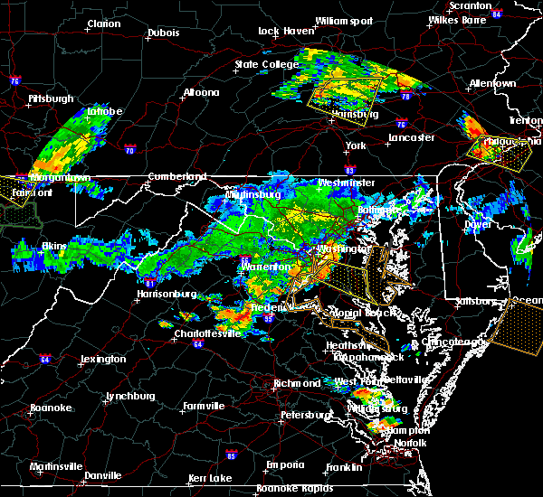 Radar Image for Severe Thunderstorms near St. Leonard, MD at 7/22/2017 6:09 PM EDT