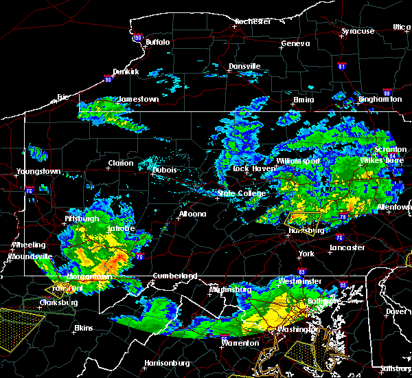 Radar Image for Severe Thunderstorms near Jonestown, PA at 7/22/2017 6:35 PM EDT