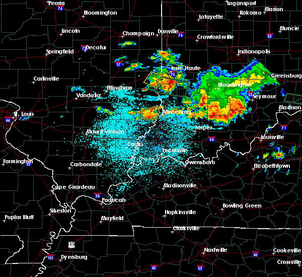 Radar Image for Severe Thunderstorms near Lawrenceville, IL at 7/23/2017 12:41 AM CDT