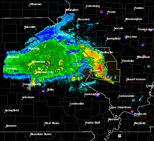 Radar Image for Severe Thunderstorms near Old Ripley, IL at 7/23/2017 3:52 AM CDT