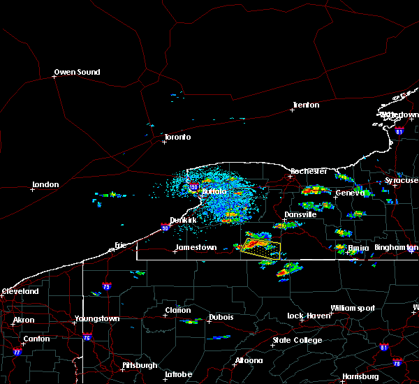 Radar Image for Severe Thunderstorms near Scio, NY at 7/23/2017 2:38 PM EDT