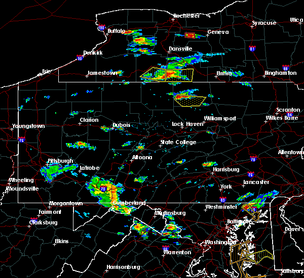 Radar Image for Severe Thunderstorms near Liberty, PA at 7/23/2017 3:26 PM EDT