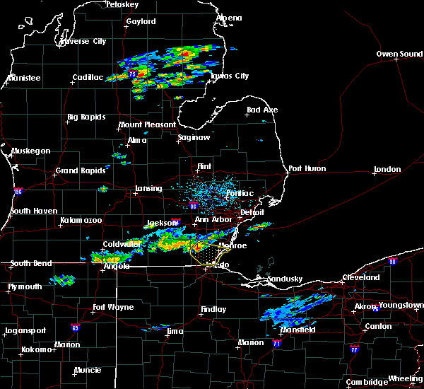 Radar Image for Severe Thunderstorms near Toledo, OH at 7/23/2017 3:39 PM EDT