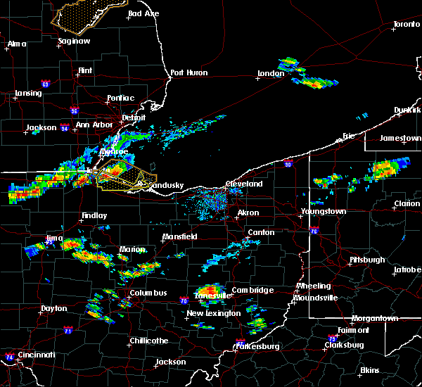 Radar Image for Severe Thunderstorms near Port Clinton, OH at 7/23/2017 5:05 PM EDT