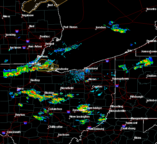 Radar Image for Severe Thunderstorms near Port Clinton, OH at 7/23/2017 5:27 PM EDT