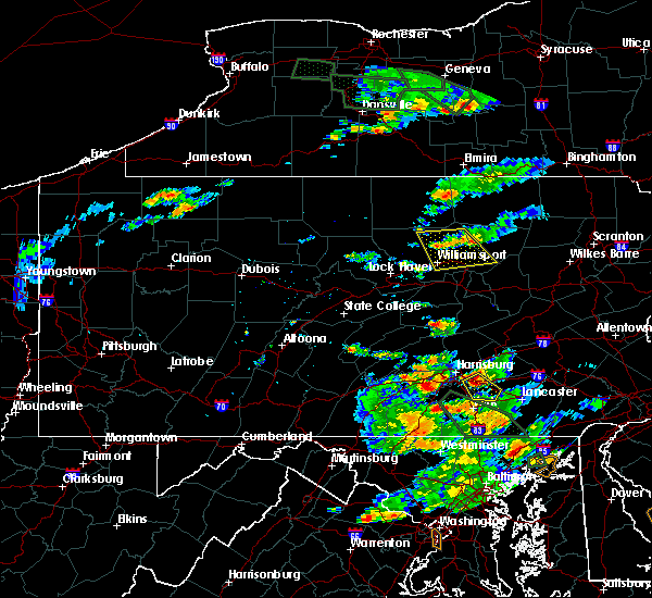 Radar Image for Severe Thunderstorms near Hershey, PA at 7/23/2017 5:40 PM EDT
