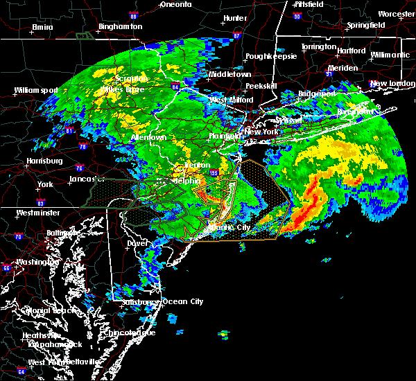 Radar Image for Severe Thunderstorms near Silver Ridge, NJ at 7/24/2017 4:20 AM EDT
