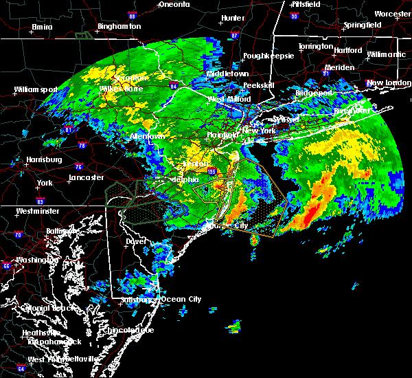 Radar Image for Severe Thunderstorms near Silver Ridge, NJ at 7/24/2017 4:38 AM EDT