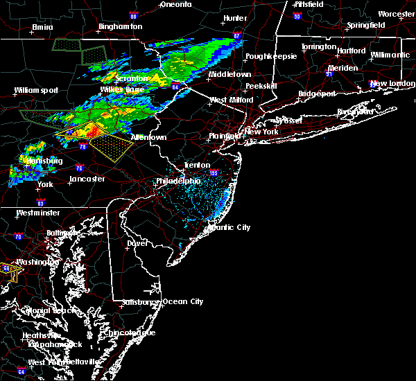 Radar Image for Severe Thunderstorms near Fullerton, PA at 7/24/2017 5:34 PM EDT