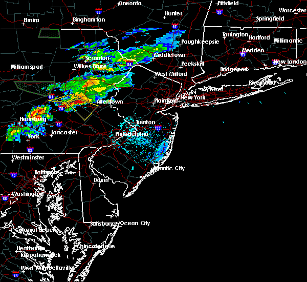 Radar Image for Severe Thunderstorms near Fullerton, PA at 7/24/2017 5:56 PM EDT
