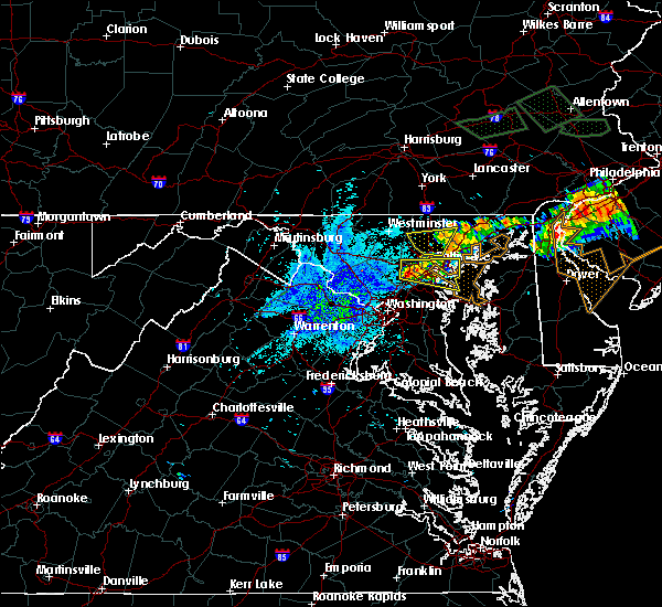 Radar Image for Severe Thunderstorms near Parkville, MD at 7/24/2017 9:14 PM EDT