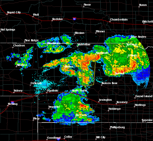 Radar Image for Severe Thunderstorms near Arnold, NE at 7/26/2017 12:14 AM CDT