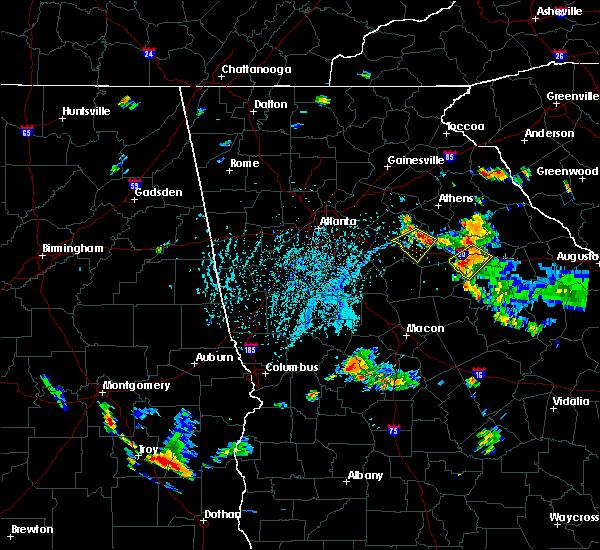 Radar Image for Severe Thunderstorms near Rutledge, GA at 7/26/2017 5:35 PM EDT