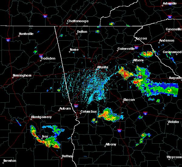 Radar Image for Severe Thunderstorms near Rutledge, GA at 7/26/2017 5:56 PM EDT