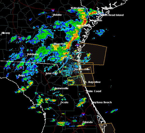 Radar Image for Severe Thunderstorms near Fleming Island, FL at 7/29/2017 3:30 PM EDT