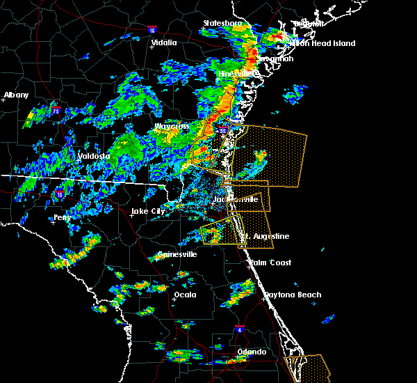 Radar Image for Severe Thunderstorms near Fleming Island, FL at 7/29/2017 3:41 PM EDT