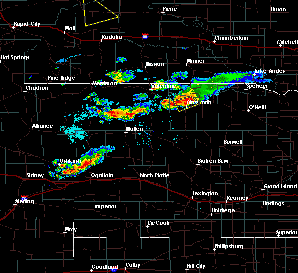 Radar Image for Severe Thunderstorms near Ainsworth, NE at 7/30/2017 5:14 PM CDT