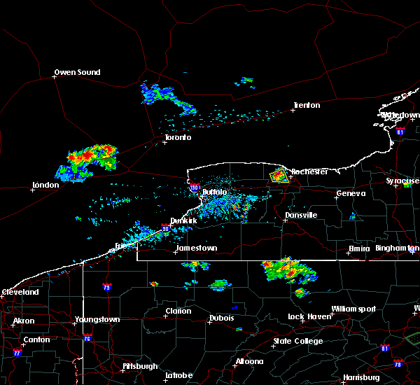 Radar Image for Severe Thunderstorms near Greece, NY at 8/1/2017 7:38 PM EDT