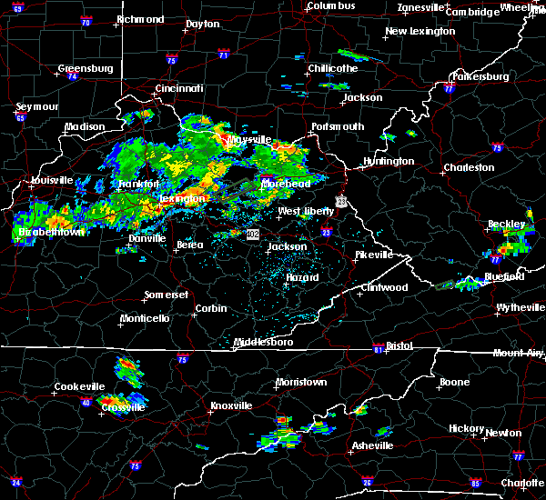 Radar Image for Severe Thunderstorms near Winchester, KY at 8/2/2017 3:48 PM EDT