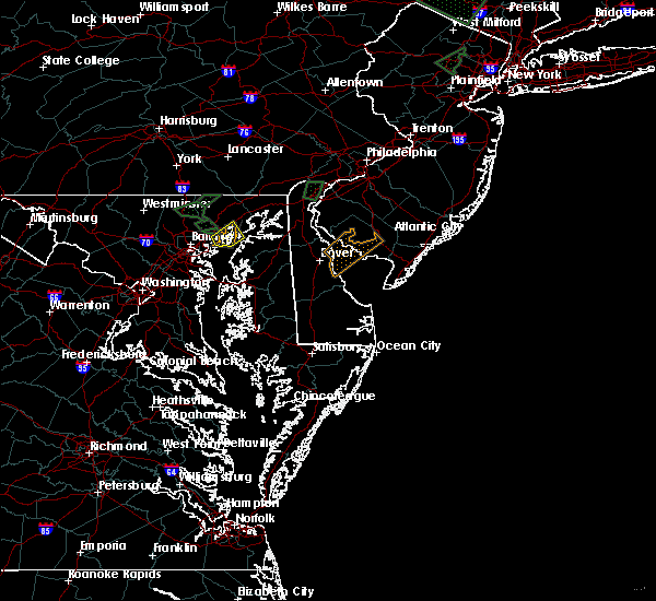 Radar Image for Severe Thunderstorms near Joppatowne, MD at 8/2/2017 4:19 PM EDT