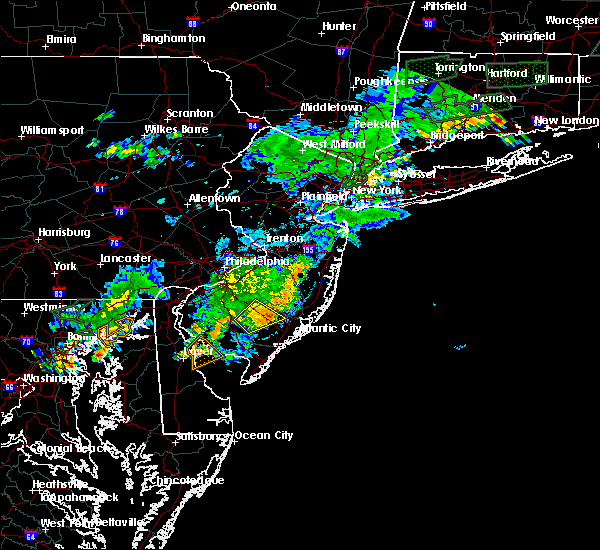 Radar Image for Severe Thunderstorms near Buena, NJ at 8/2/2017 5:54 PM EDT