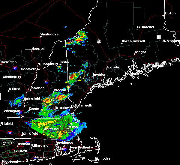 Radar Image for Severe Thunderstorms near Bridgton, ME at 8/2/2017 6:07 PM EDT