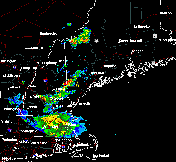 Radar Image for Severe Thunderstorms near Steep Falls, ME at 8/2/2017 6:48 PM EDT