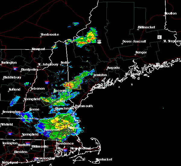 Radar Image for Severe Thunderstorms near Steep Falls, ME at 8/2/2017 7:16 PM EDT