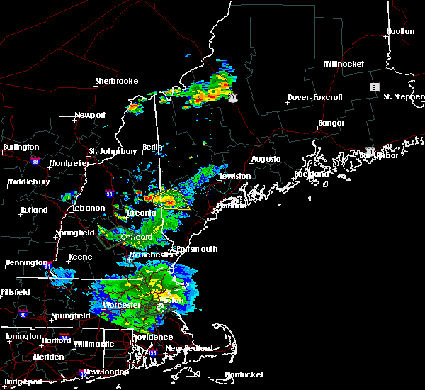 Radar Image for Severe Thunderstorms near Steep Falls, ME at 8/2/2017 7:37 PM EDT