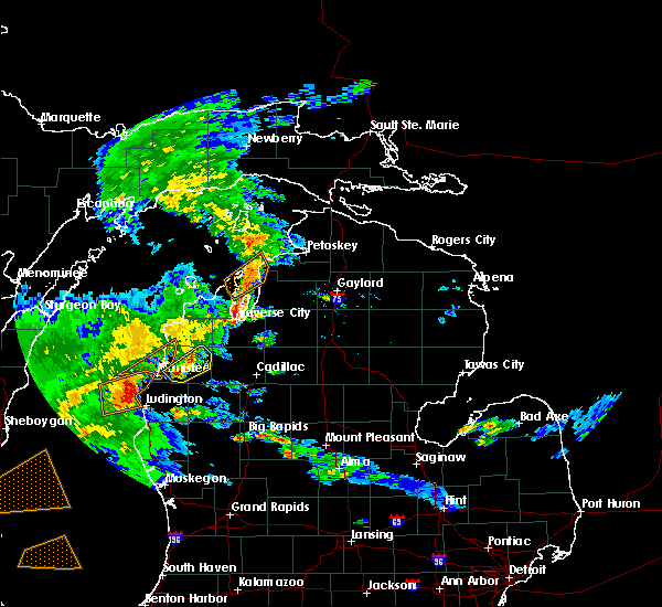 Radar Image for Severe Thunderstorms near Nessen City, MI at 8/3/2017 5:14 PM EDT