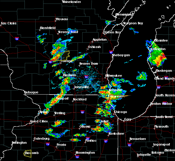 Radar Image for Severe Thunderstorms near Endeavor, WI at 8/3/2017 6:28 PM CDT