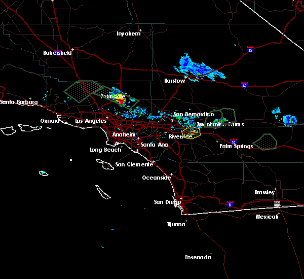 Interactive Hail Maps - Hail Map for Cabazon, CA on
