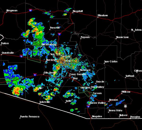 Interactive Hail Maps - Hail Map for Chandler, AZ on