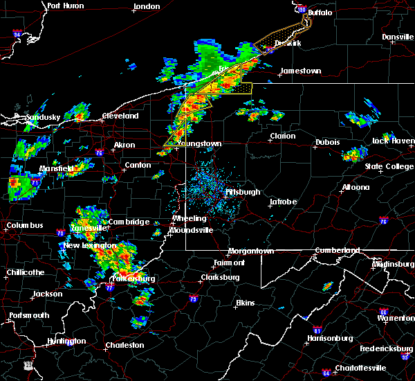 Radar Image for Severe Thunderstorms near Girard, OH at 8/4/2017 12:25 PM EDT