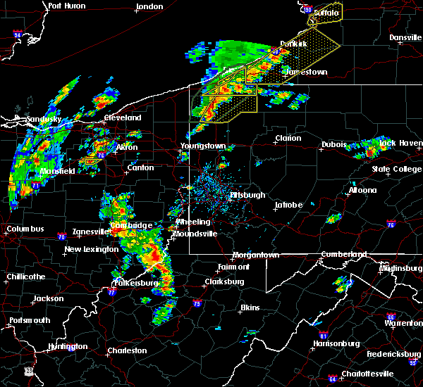 Radar Image for Severe Thunderstorms near Lafferty, OH at 8/4/2017 1:01 PM EDT