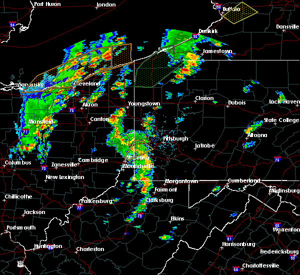 Radar Image for Severe Thunderstorms near Eighty Four, PA at 8/4/2017 2:06 PM EDT