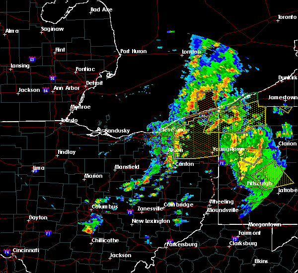 Radar Image for Severe Thunderstorms near Girard, OH at 8/4/2017 3:15 PM EDT