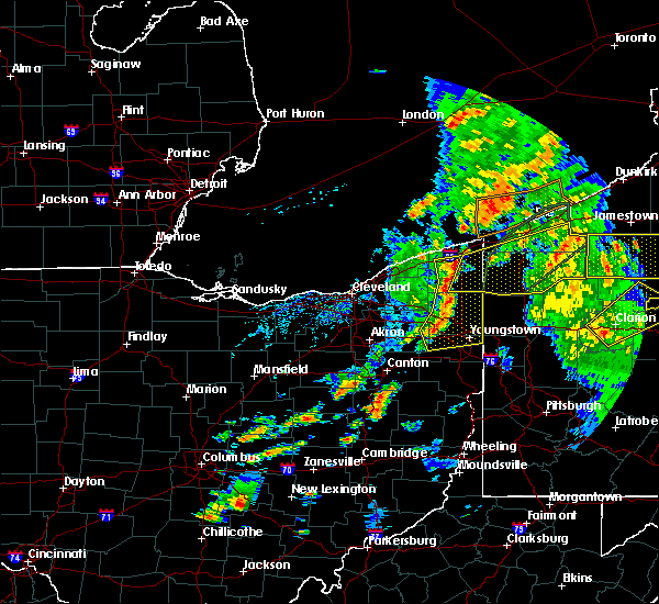 Radar Image for Severe Thunderstorms near Cortland, OH at 8/4/2017 3:49 PM EDT