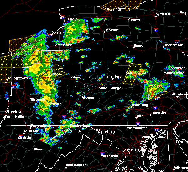 Radar Image for Severe Thunderstorms near Marianne, PA at 8/4/2017 3:49 PM EDT