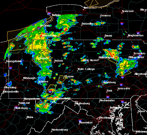 Radar Image for Severe Thunderstorms near East Freedom, PA at 8/4/2017 4:17 PM EDT