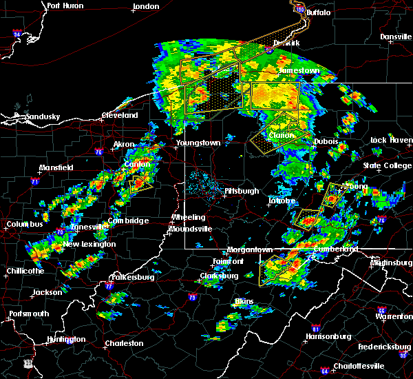Radar Image for Severe Thunderstorms near East Rochester, OH at 8/4/2017 4:29 PM EDT
