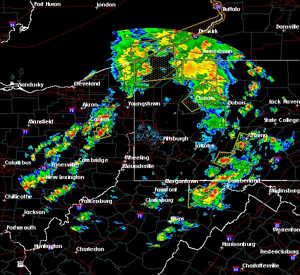 Radar Image for Severe Thunderstorms near Hanoverton, OH at 8/4/2017 4:29 PM EDT